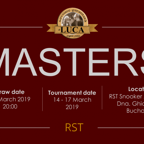 LUCA – RST MASTERS 2019