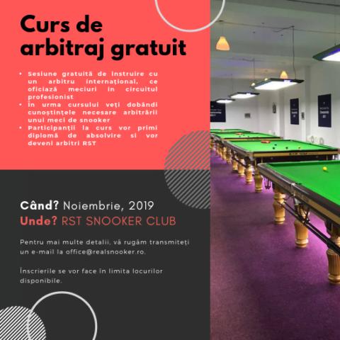 CURS DE ARBITRAJ – GRATUIT