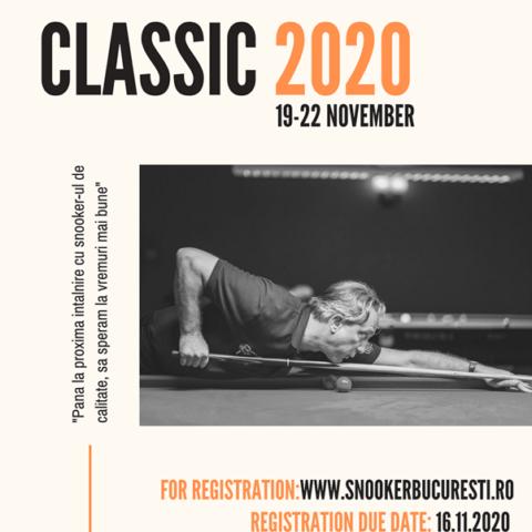 Marius Ancuța CLASSIC, cel mai important eveniment de snooker din România!